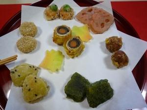 味つき天ぷら