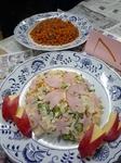 桜のポテトサラダ