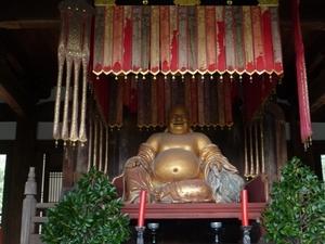 万福寺の布袋様