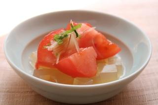 トマトと寒天のすのもの.jpg