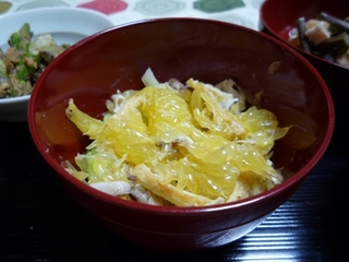 春きゃべつと夏みかんの胡麻酢和え.jpg